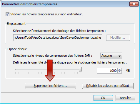 Support la client le skillsoft for Fenetre java