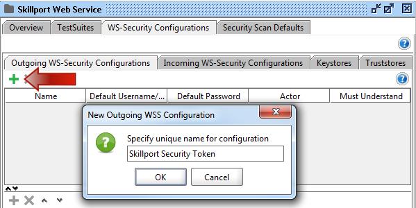 Web Services - SoapUI Configuration